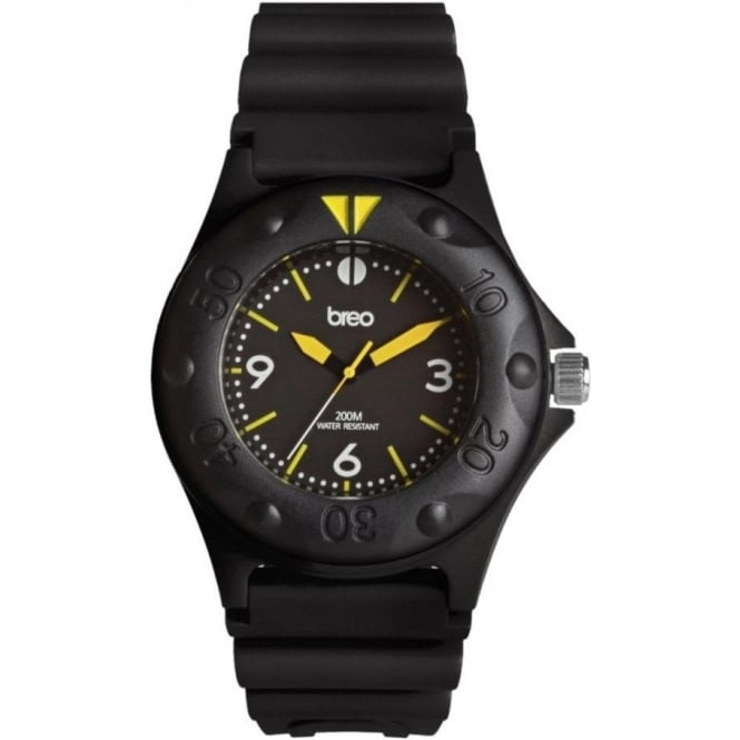 Breo Watches Black Pressure Watch B-TI-PRS7