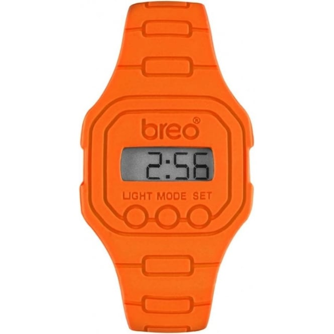 Breo Watches Digital Orange Spectrum Watch B-TI-TD1
