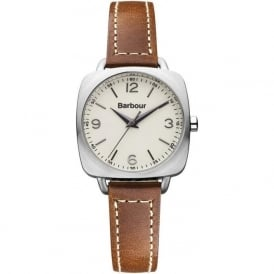 Barbour BB003SLTN Chapton Womens Brown Leather Watch