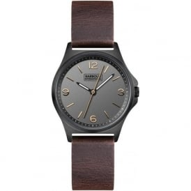 Barbour BB007CHBR Hebburn Womens Brown Leather Watch