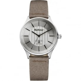 Barbour BB021SLCH Glysdale Fuse Mens Brown Fabric Watch