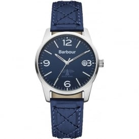 BB026BLBL Alanby Mens Blue Strap Watch