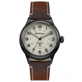 BB056CMBR Murton Mens Leather Watch