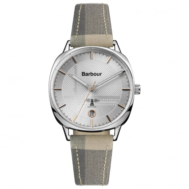 Barbour BB062SLTA Ladies Fabric & Leather Watch