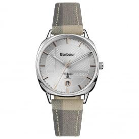 BB062SLTA Ladies Fabric & Leather Watch
