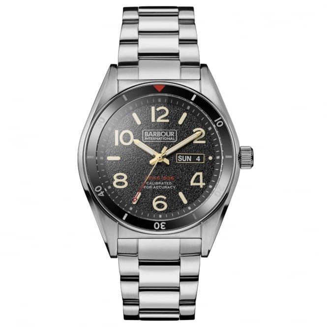 Barbour International BB054SL Kenton Mens Stainless Steel Watch