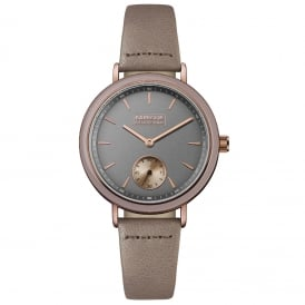 International BB061GYPP Ladies Leather Watch
