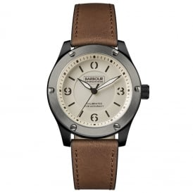International BB063SLBR Mens Leather Watch