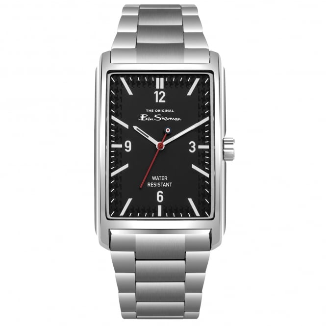 Ben Sherman BS013BSM Black & Silver Stainless Steel Men's Watch