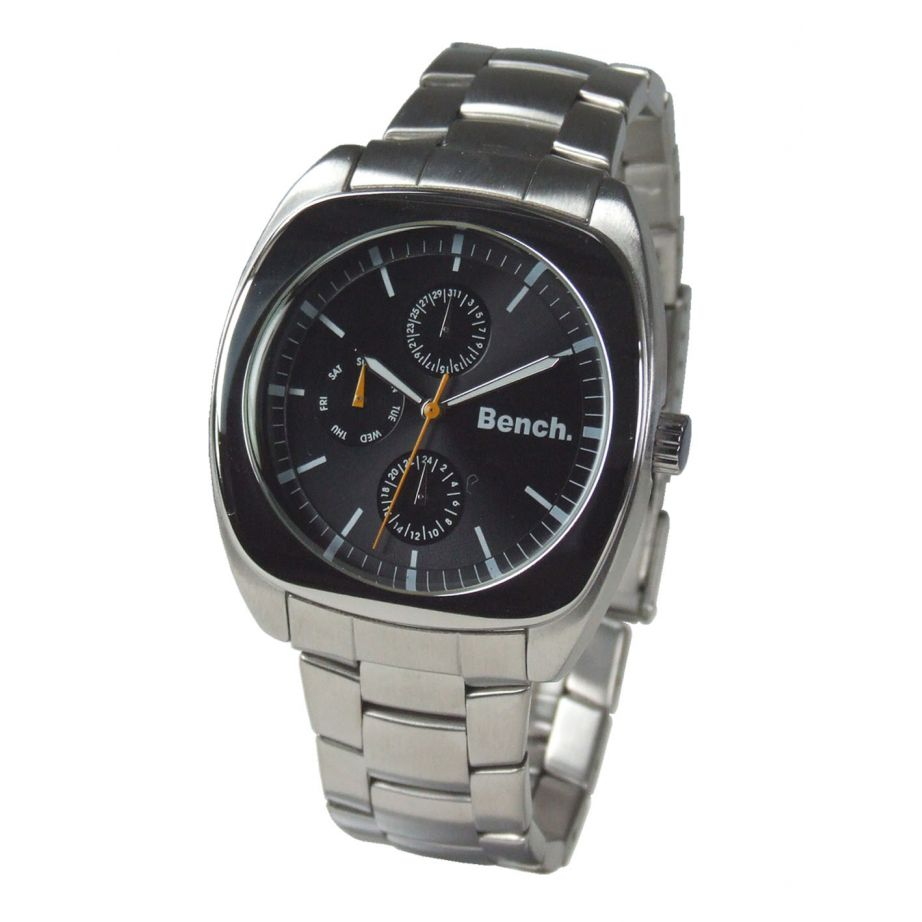 bench bc0023bk stainless silver chronograph buy