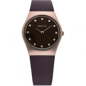 Bering 11927-262 Ladies Brown Stainless Steel Mesh