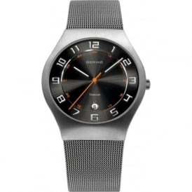 Bering 11937-007 Grey Stainless Steel Nickel Free Band