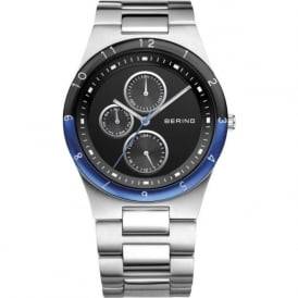 Bering 32339-702 Mens Silver Aluminium & Stainless Steel Case