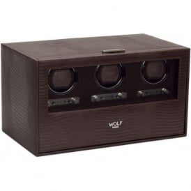 Blake Brown Teju Leather Triple Watch Winder
