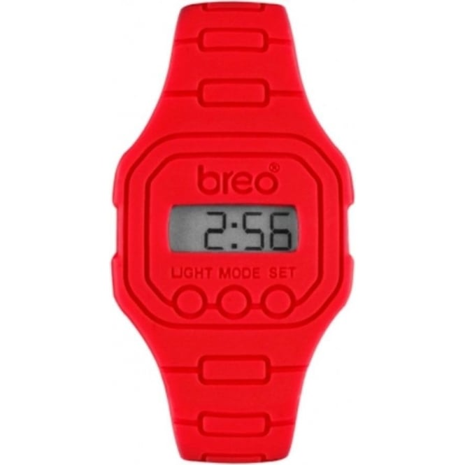 Breo Watches B-TI-TD10 Spectrum Red Digital Watch