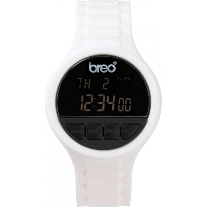 Breo Watches Code White Watch B-TI-CDE8
