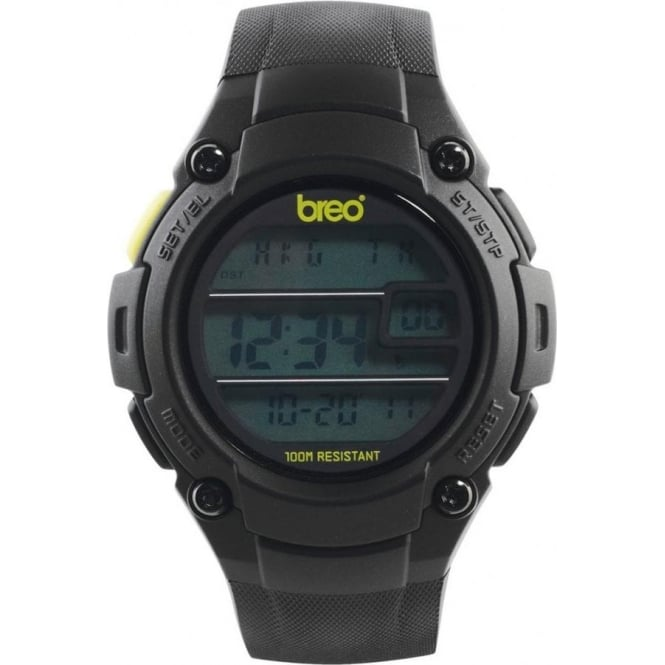 Breo Watches Zone Black Watch B-TI-ZNE7