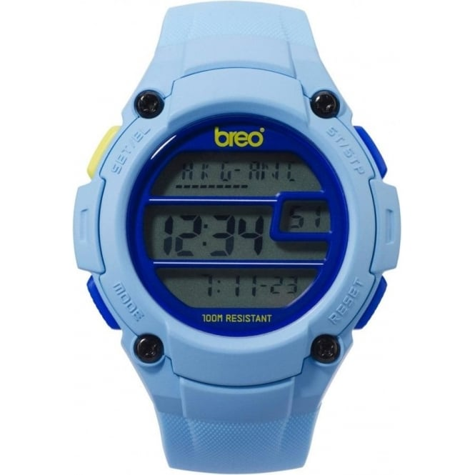 Breo Watches Zone Light Blue Watch B-TI-ZNE4