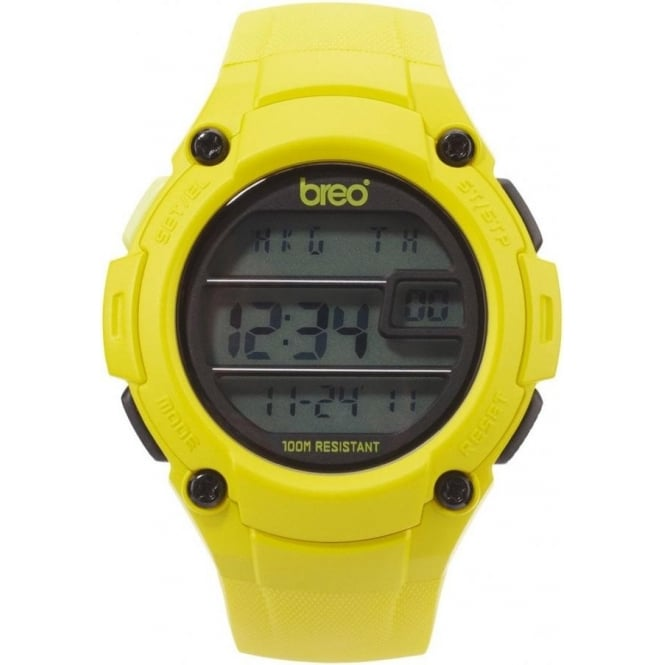Breo Watches Zone Yellow Watch B-TI-ZNE6