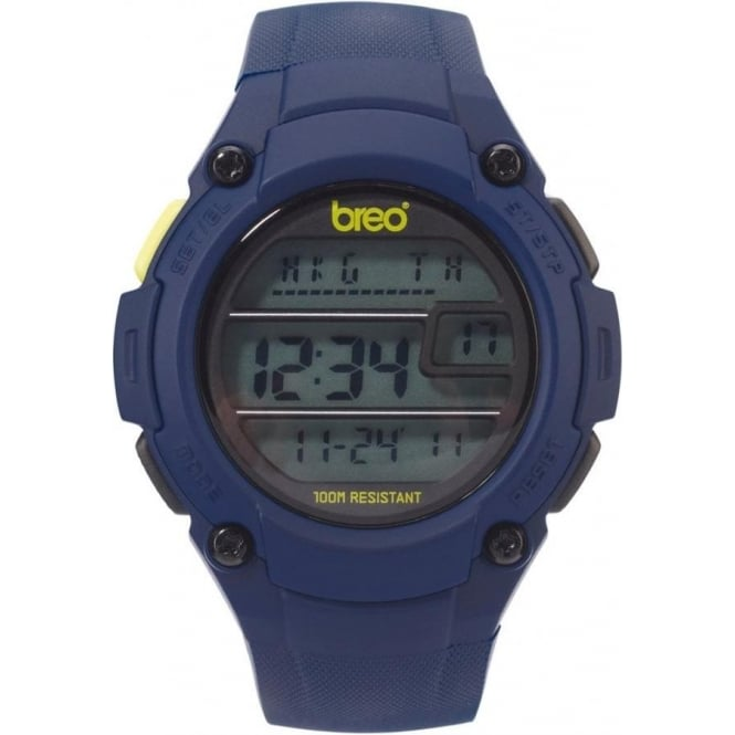 Breo Watches Zone Navy Blue Watch B-TI-ZNE11