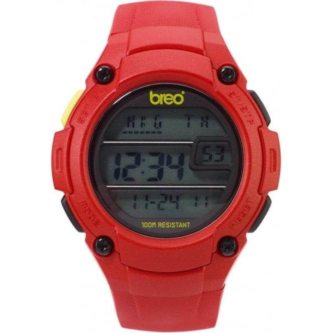 Breo Watches Zone Red Watch B-TI-ZNE10
