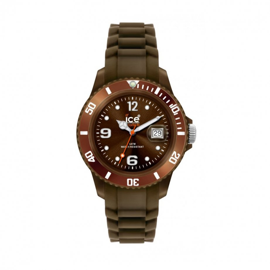 Ice watch brown sili winter collection unisex size si bn u from ticwatches for Winter watches