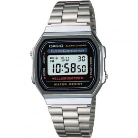 Casio Watches A168WA-1YES Men's Classic Casio Digital Watch