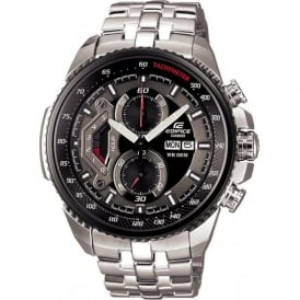 Casio Watches EF-558D-1AVEF Men's Edifice Silver Stainless Steel Watch