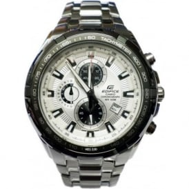 Casio Watches EF-539D-7AVEF Edifice Silver Stainless Steel Men's Chronograph Watch