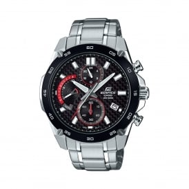 EFR-557CDB-1AVUEF Edifice Black & Silver Stainless Steel Watch