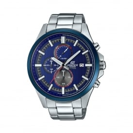 EFV-520RR-2AVUEF Edifice Blue & Silver Stainless Steel Men's Watch