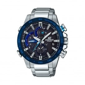 EQB-800DB-1AER Edifice Bluetooth Race Lap Chronograph Tough Solar Watch