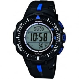Casio Watches PRG-300-1A2ER Protrek Black Resin Mens Watch