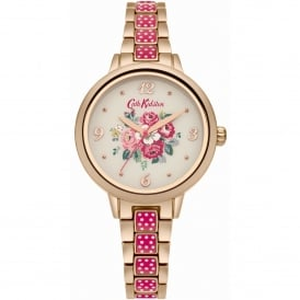 CKL008PRGM Forest Bunch Pink & Rose Gold Stainless Steel Ladies Watch
