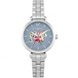 CKL015SM Mallory Bunch Blue & Silver Stainless Steel Ladies Watch