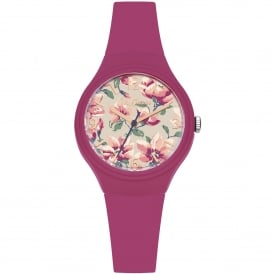 CKL029P Magnolia Pink Silicone Ladies Watch