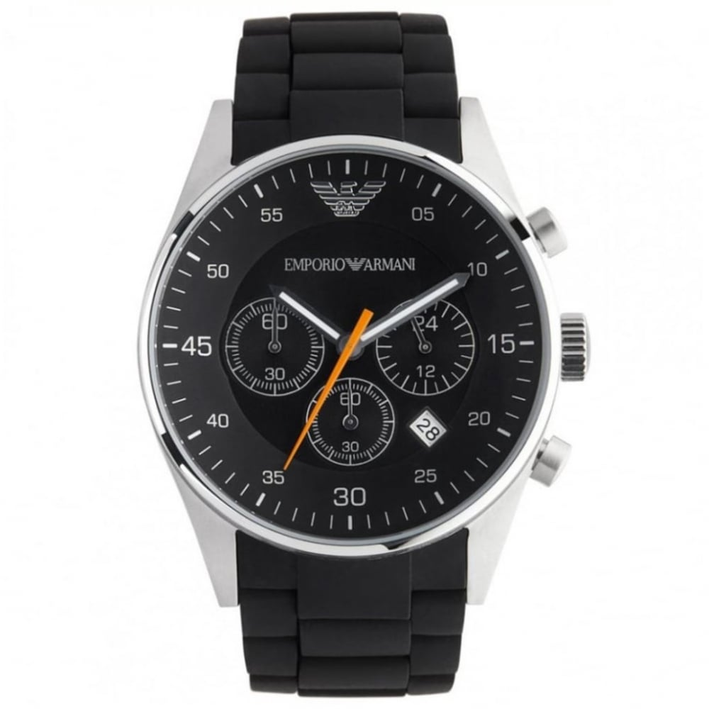 Buy Emporio Armani Classic Black Mens Chronograph Watch AR5858 UK d4befa46f