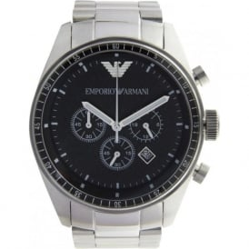 AR0585 Classic Stainless Steel Mens Chronograph Watch