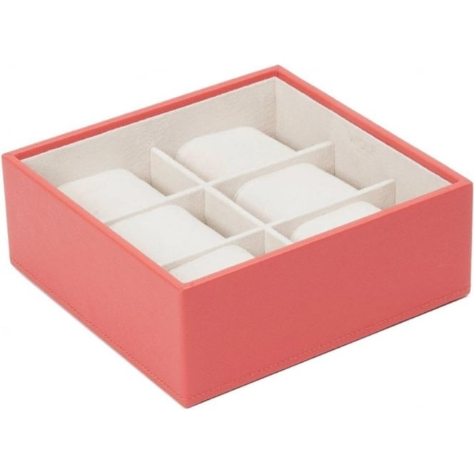 Wolf Designs Coral 6 Piece Watch Tray