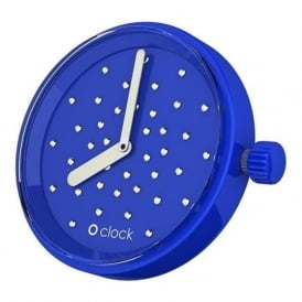 OClock Watches Crystal Electric Blue Dial OCF50