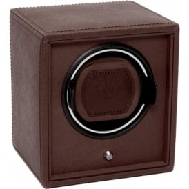 Cub Brown Leather & Brown Single Watch Winder 1.8