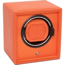 Cub Orange Leather & Orange Single Watch Winder 1.8