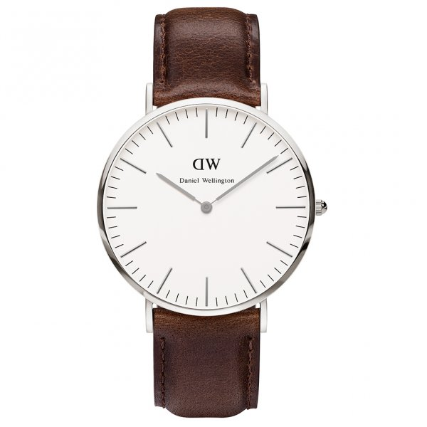 Daniel Wellington 0209DW Classic Bristol Gents Brown Leather Watch