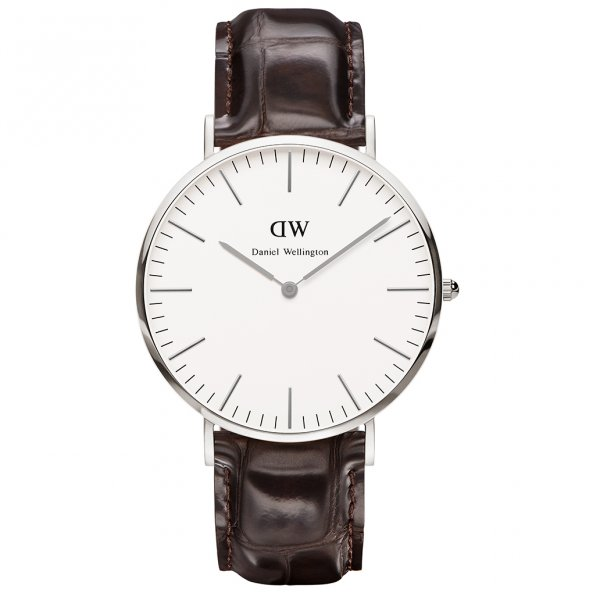 Daniel Wellington 0211DW Classic York Gents Brown Leather Watch