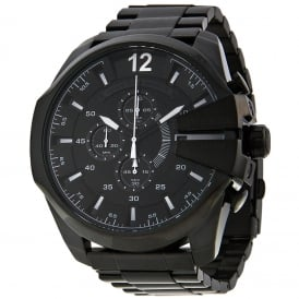 Diesel DZ4283 Mega Chief Black IP Chronograph Men's Watch
