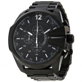 Diesel DZ4283 Mega Chief Black IP Chronograph Men's Watch
