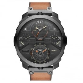 DZ7359 Machinus Brown Leather Chronograph Men's Watch