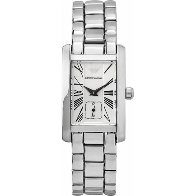 Armani Watches AR0146 Stainless Steel Unisex Luxury Watch - Medium