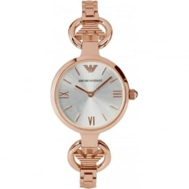 Armani Watches AR1776 Armani Rose Gold Stainless Steel Ladies Watch
