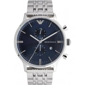 Armani Watches Emporio Armani Gianni Watch AR1648 Mens Blue Steel Watch